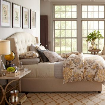 FREE SHIPPING! Shop Wayfair for Birch Lane Wilson Upholstered Bed - Great Deals on all Furniture products with the best selection to choose from!
