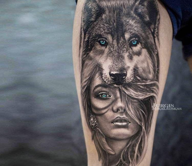 Best Dog Portrait Tattoo Artist Near Me
