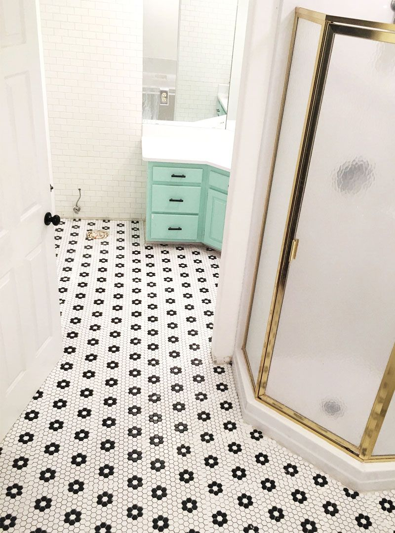 How to tile your bathroom floor / phase two | House, Bathroom ...
