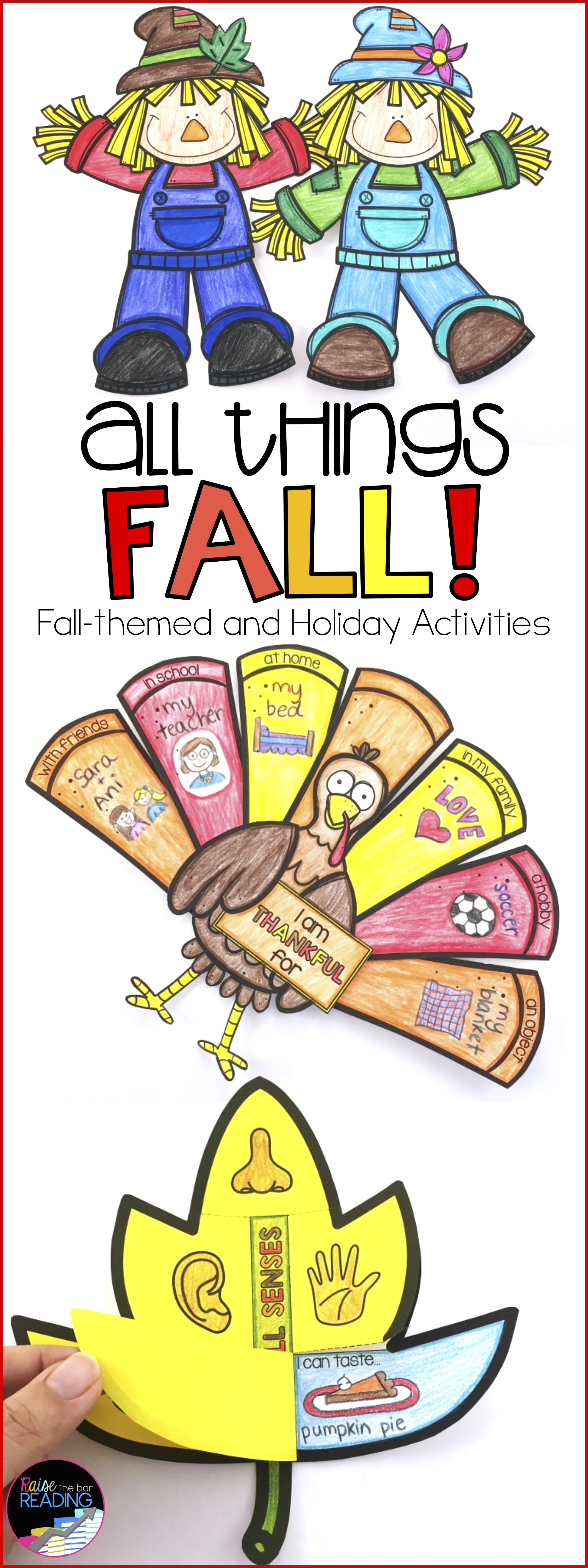 Fall Activities Glyphs And Fall Writing Prompts