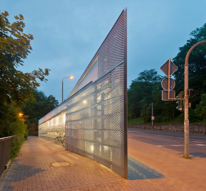 Architektur Erfurt osterwold schmidt exp ander architekten bda 2bicycle station