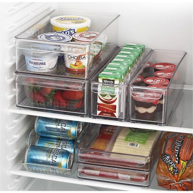 Exceptionnel Ideas: Refrigerator Organization Fridge Bins And Organizer And Tray From  Crate And Barrel Ribbed And Footed Pieces Bring Modular Style To The  Refrigerator: ...