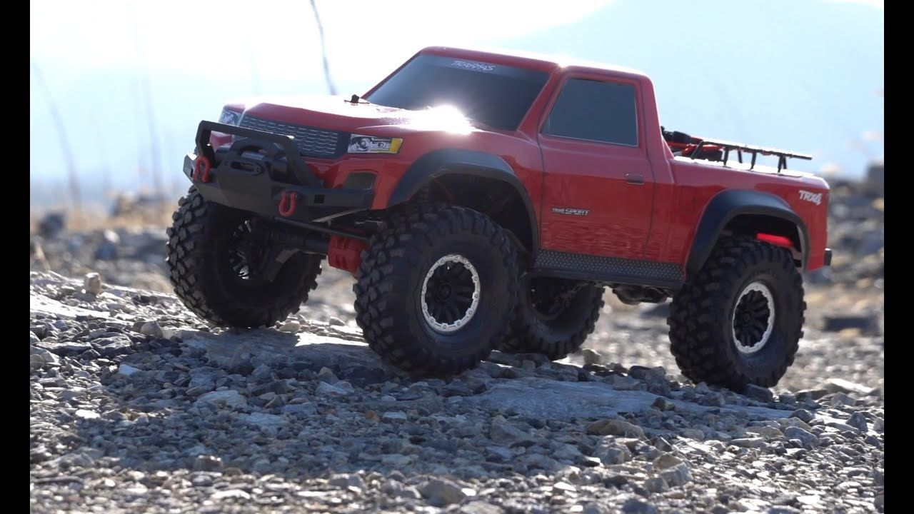 Traxxas TRX4 SPORT 4 │ Off Road Red On The Rocks