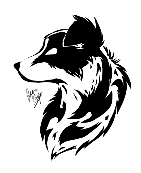border collie tatuaje por cruz corazones link drawing pinterest collie tattoo and tatoo. Black Bedroom Furniture Sets. Home Design Ideas
