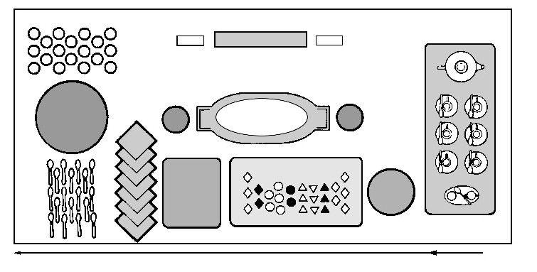 buffet table set up diagram party food pinterest rh pinterest co uk buffet table setting diagram  sc 1 st  wiring info & Buffet Table Diagram - WIRING INFO \u2022
