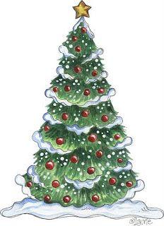 Dibujos De Arboles De Navidad Pintados.Dibujos Arboles Navidad Para Imprimir Imagenes Y Dibujos