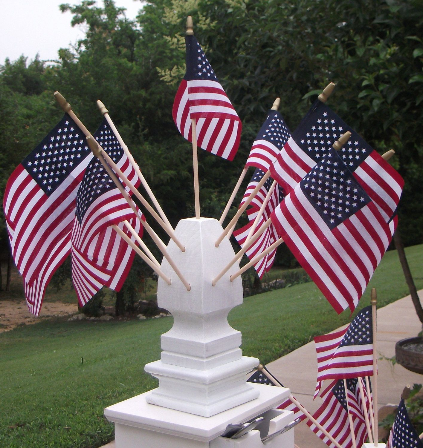 Pin By Bonnie Waltz On Independence Day 4th Of July Mantel Decorations Patriotic Holidays