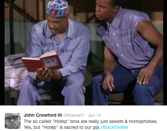 10 Reasons Why People Are Not Here For Hotep Twitte