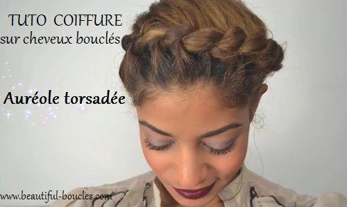 17 Best images about Attacher ses cheveux bouclés on Pinterest ...