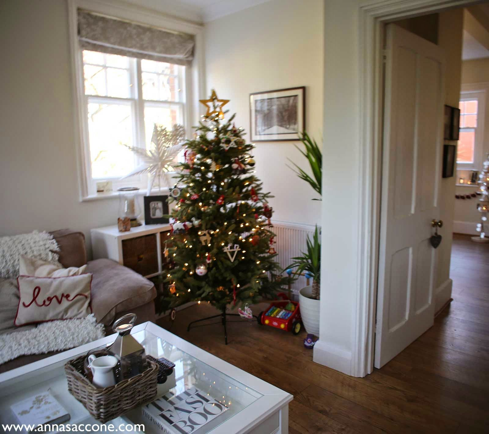 anna saccone: style saturday: christmas home decor (blogmas day 13