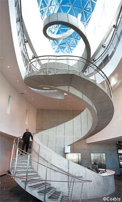 Best The Freestanding Concrete Staircase In The New Salvador 400 x 300