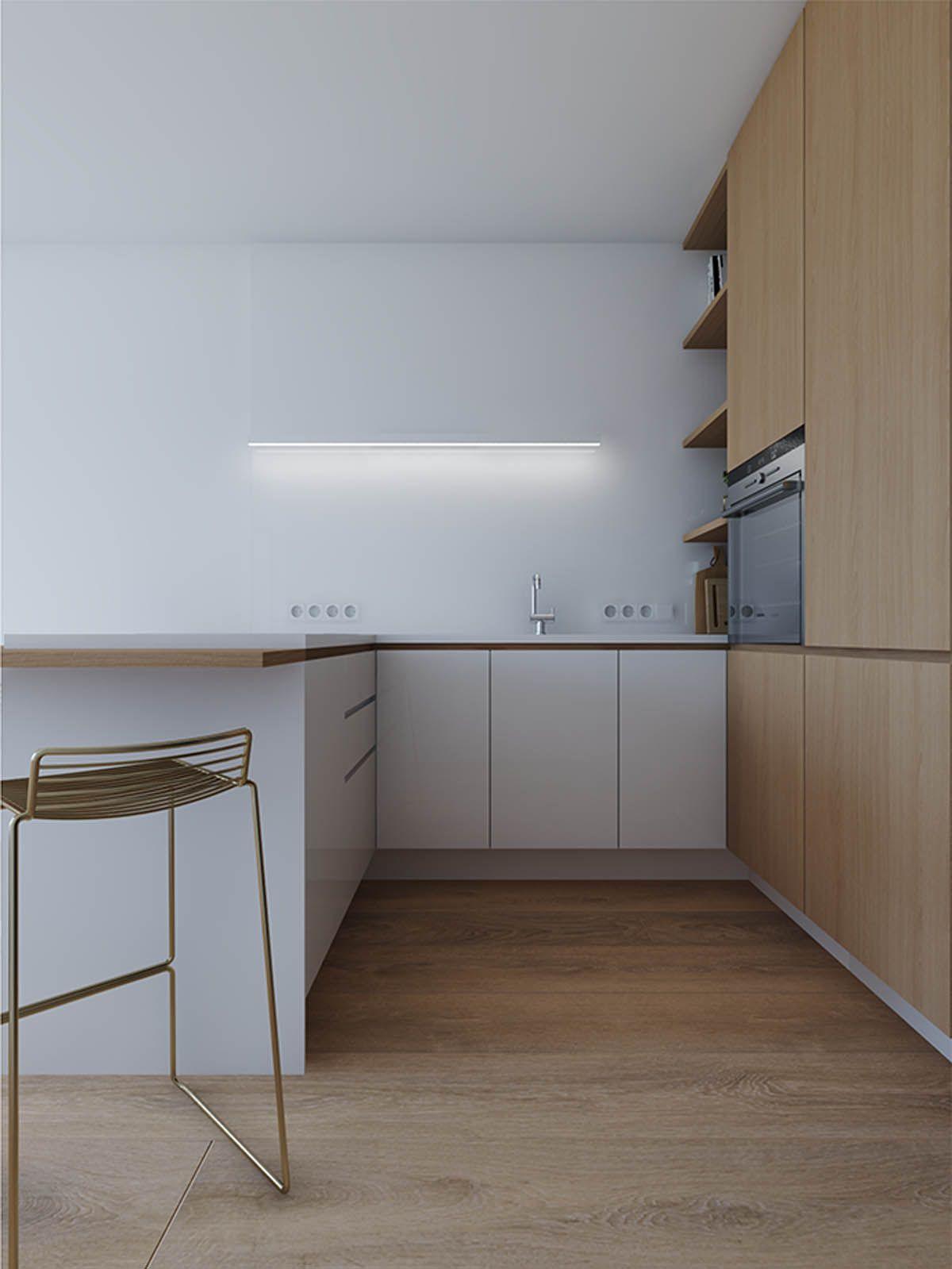 Studio Apartments In Three Modern Styles | kuhinje | Pinterest ...