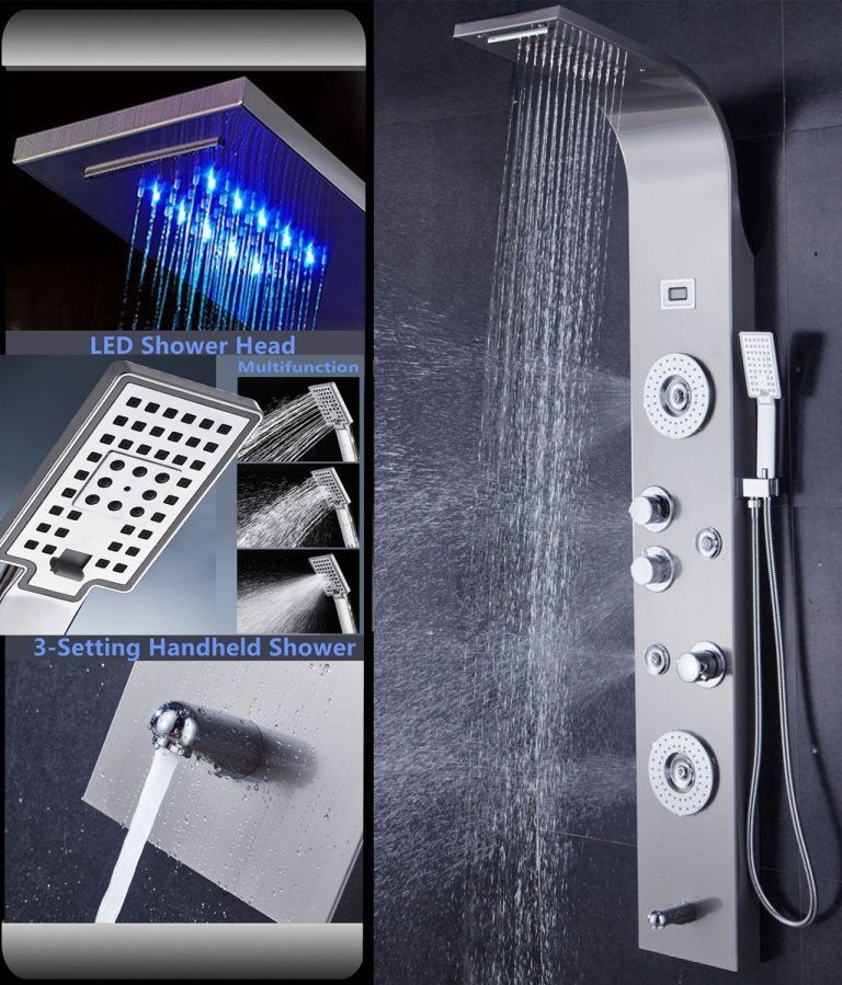 Top 10 Best Shower Panels In 2020 Reviews Enjoy Shower In Your