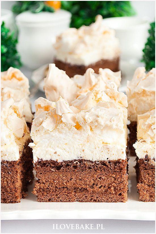 Czekoladowa Chmurka I Love Bake Desserts Dessert Recipes Cake Recipes