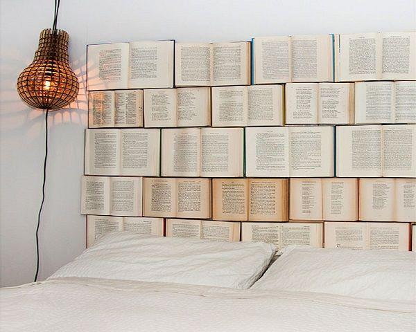 Imagen cabecero cama libros del art culo m s de 90 fotos - Cabeceros originales ...