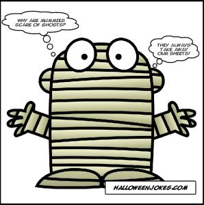 mummy joke kids halloween jokes - Kids Jokes Halloween