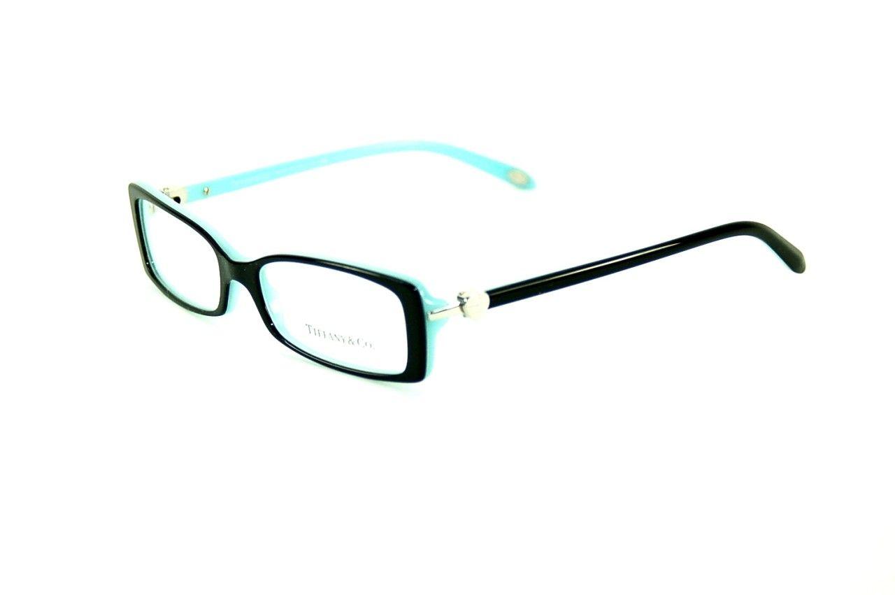 Tiffany & Co. Eyewear Reading Glasses TF 2035 8055 Black on Azure ...