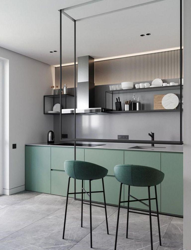minimalist kitchen design with marble kitchen design small interior design kitchen on kitchen ideas minimalist id=75387