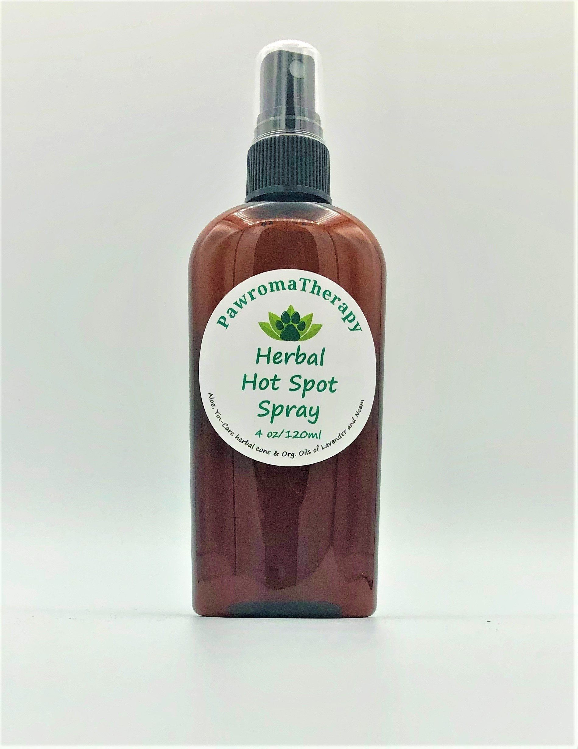 Herbal Hot Spot Spray for Dogs and Cats, Natural Pet