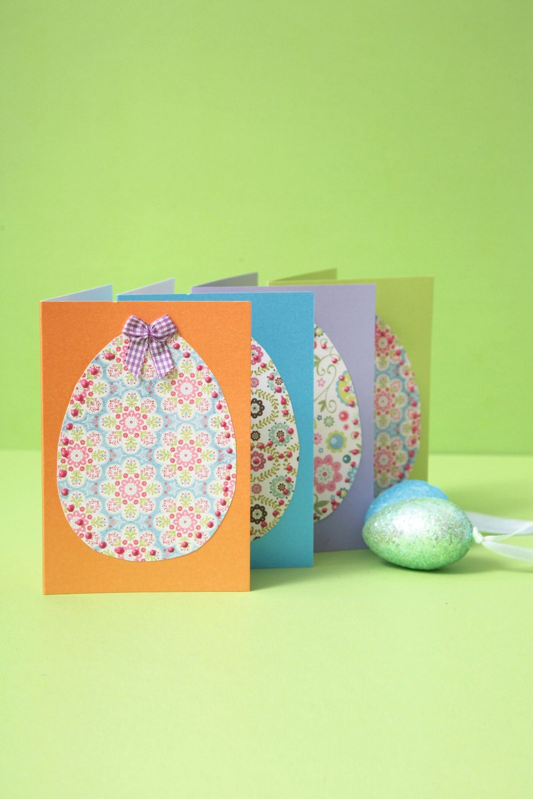 Nice Easter Card Ideas For Children To Make Part - 9: Easy Easter Crafts For Kids Cutout Egg Cards