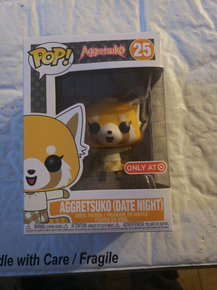 Funko Pop Aggretsuko Aggretsuko Date Night 25 Target Exclusive