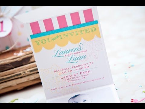 ▶ Make It Monday #198 Three Panel Card or Invitation - YouTube