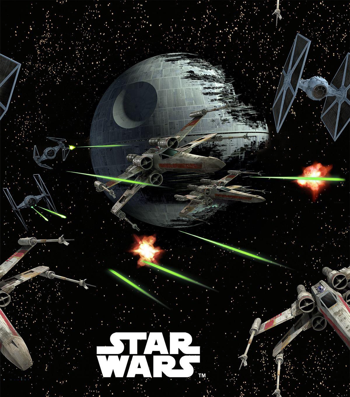 Star wars spaceships fleece fabricstar wars spaceships for Spaceship fabric