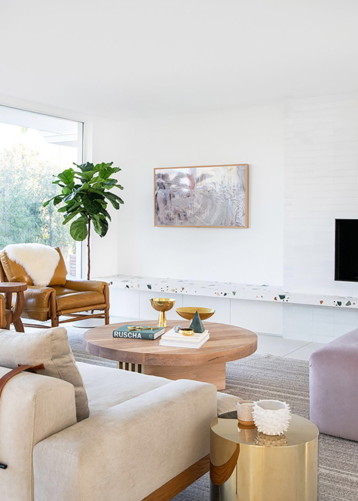 Advice From An Architect 10 Tips To Create A Cooler Home: Living Room Trends By Annie Claire Hudson On //DreamHome