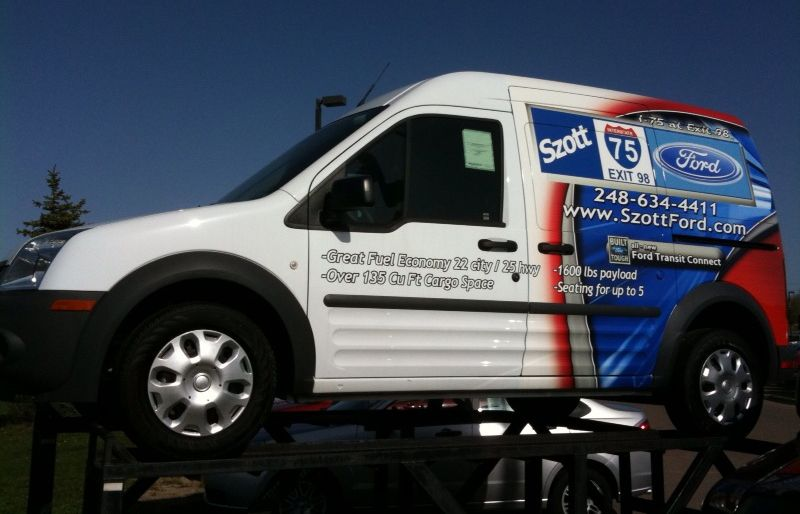 Ford Transit Connect Wrap By Steel Skinz Graphics Www Steelskinz