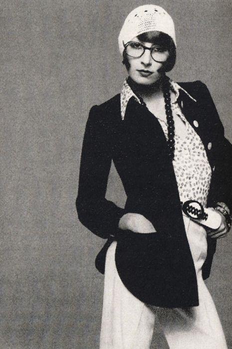 Anjelica Huston by Avedon, January 1973.