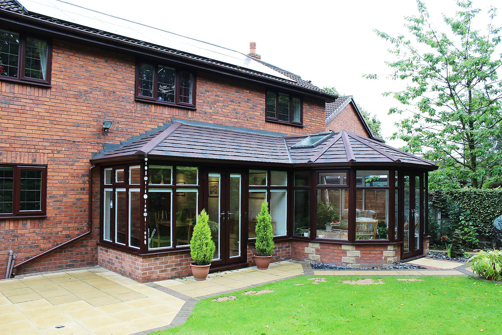 Supalite Roofing A Fantastic Light Weight Solution Offering A Solid Roofing Option To Your Conservatory Not Roofing Options Conservatory Roof Roofing Systems
