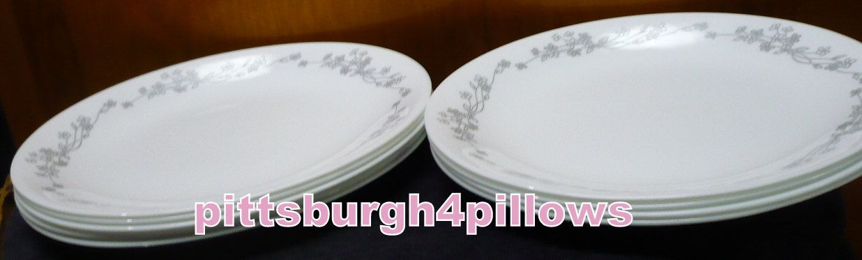 9 - Corelle - Ribbon Bouquet - Salad Plates - 8 1/2 - EUC - Priced ...
