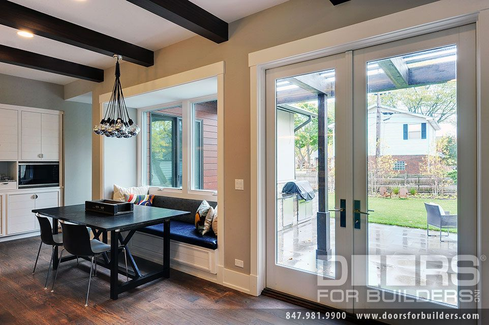 Custom Windows Project French Style Patio Doors With Thicker
