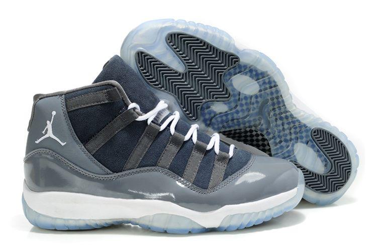 31de3ef1f3c9  63.99 Deal Extreme Air Jordan 11 Retro Dark Grey White Cool Grey Shoes  Outlet www.sportsdealextreme.com