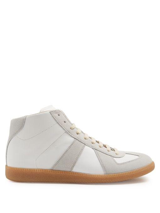 Replica contrast sneakers - White Maison Martin Margiela H7gpjduD