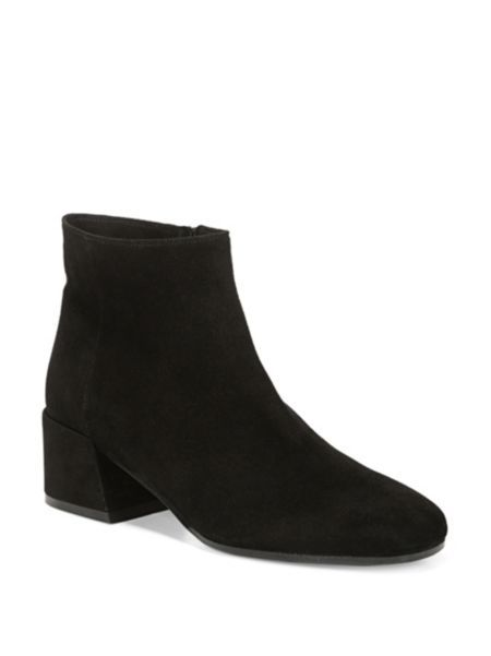 Vince Ostend Pewter Suede Booties q6e5Np