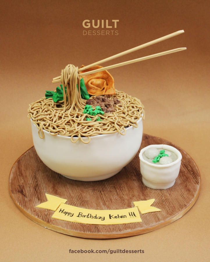 Flying Chopstick Noodle Cake