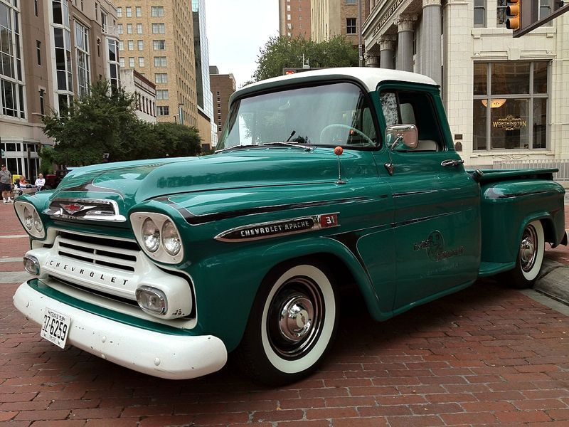 1959 CHEVROLET APACHE PICKUP | Pickups and Trucks | Pinterest ...