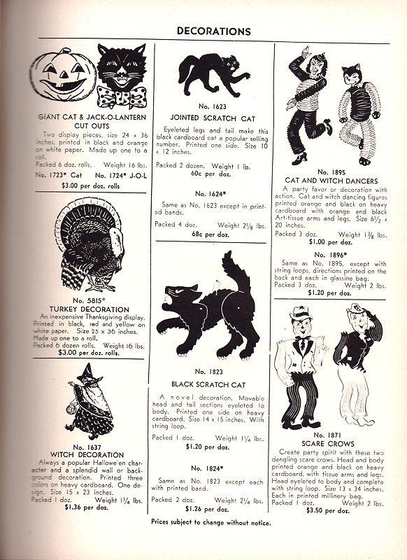 1948 The Beistle Company Catalog Beistle Pinterest Vintage