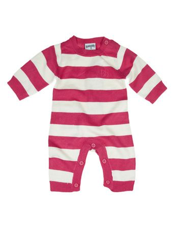 Very Cute And Soft Stripe Knit Bodysuit Made By Bamboo Baby From 70