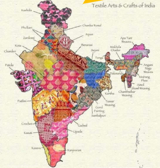 India's Textile Industry - Speciality by Region | project in