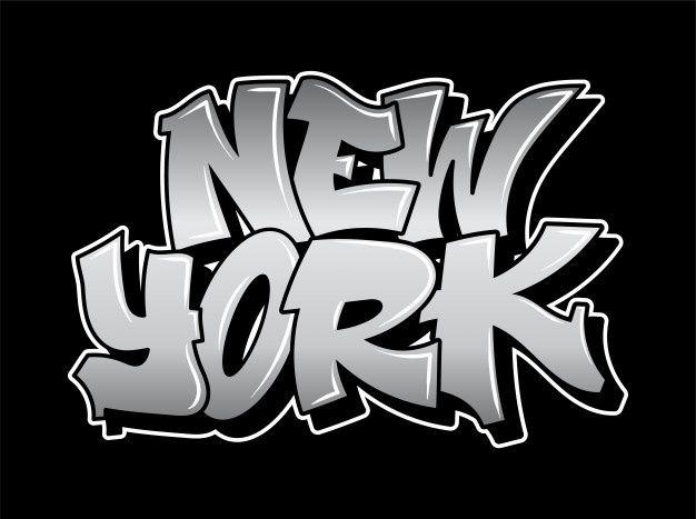 Alfabeto De Graffiti De La Vieja Escuela Letras Decorativas Vandalismo Street Art Estilo Salvaje Libre En La Ciudad U En 2020 Graffiti Ciudad Urbana Pintura En Aerosol