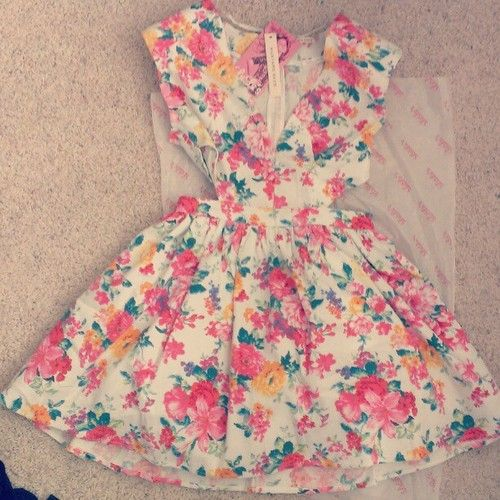 cute floral summer dresses tumblr - Google Search | ALL ABOUT ...
