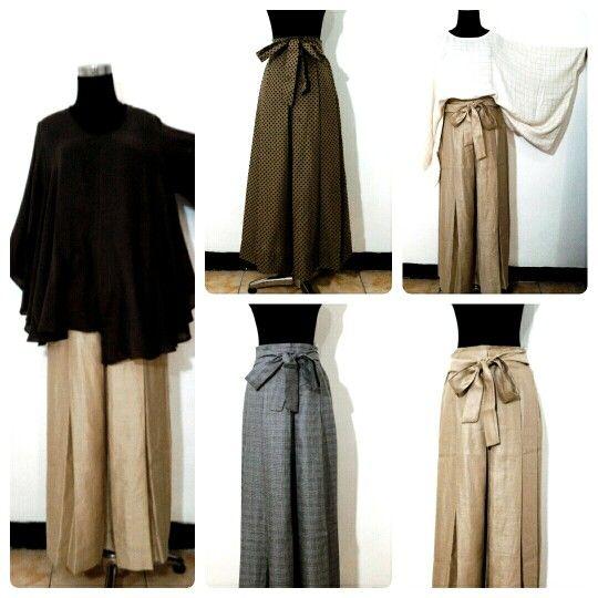 Rimple skirt linen