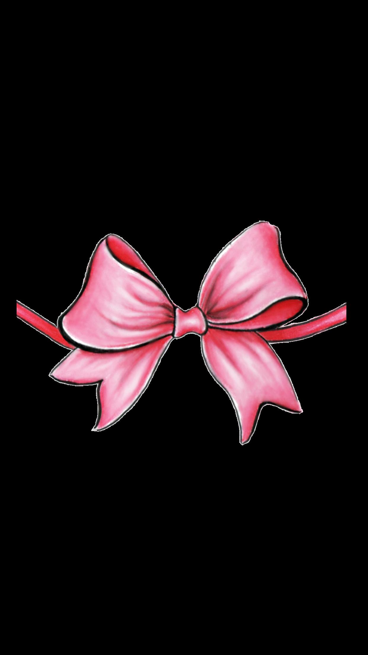 Pink Bow Casetify Iphone Art Design Ribbon Illustration Ribbon Bows Pink Ribbon Pink