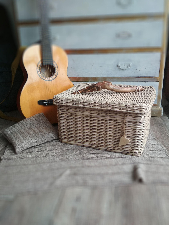 Pin On My Wicker Home Decor Wicker Basket Storage