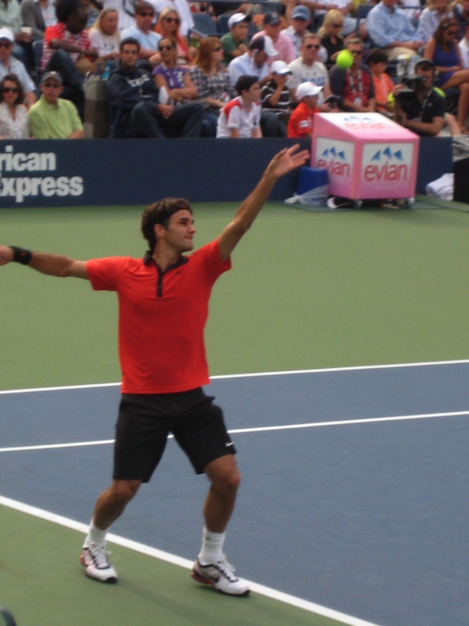 Roger Federer At Us Open Tennis Championship Roger Federer Su Majestad