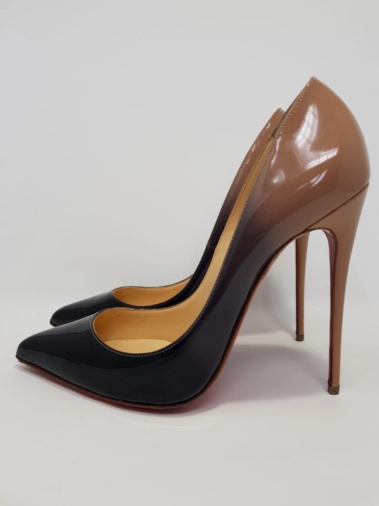92c6ebecc653 High Heels · Bags · These Christian Louboutin versatile Pigalle Follies  pumps are crafted of glossy patent leather with black to