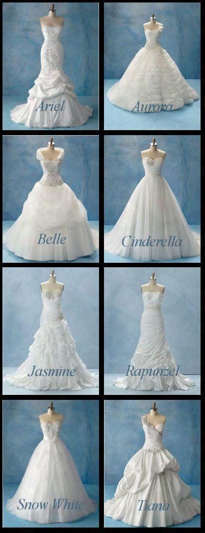 Disney Princess dresses I Love Snow White and Cinderella\'s ...