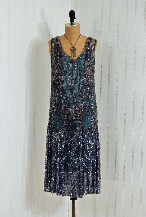 1920s dress via timeless vixen vintage on etsy my style